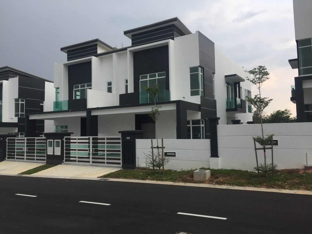 new semi-d house near puteri wangsa