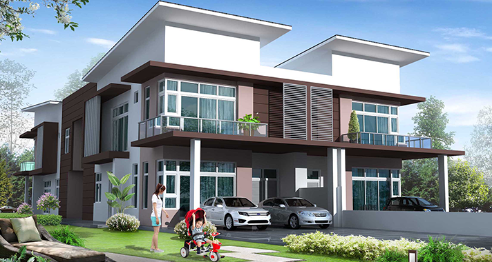 Cluster & Semi-D House in Mutiara Rini 2020