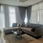 mutiara rini cluster house living room with sofa