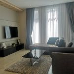 mutiara rini cluster house living room with tv table and sofa