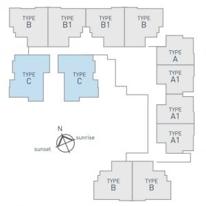 sky breeze apartment layout