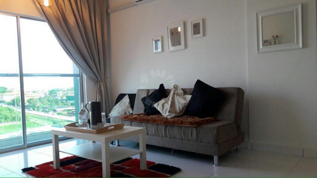 twin galaxy  residential apartment 560 square foot builtup lease price rm 1,500 at jalan dato abdullah tahir, johor bahru, johor bahru, johor #307