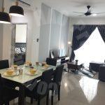 seasons luxury 3 rooms id serviced apartment 1195 square foot builtup lease price rm 2,200 at jalan dato abdullah haji othman taman dato onn larkin johor bahru johor malaysia #546