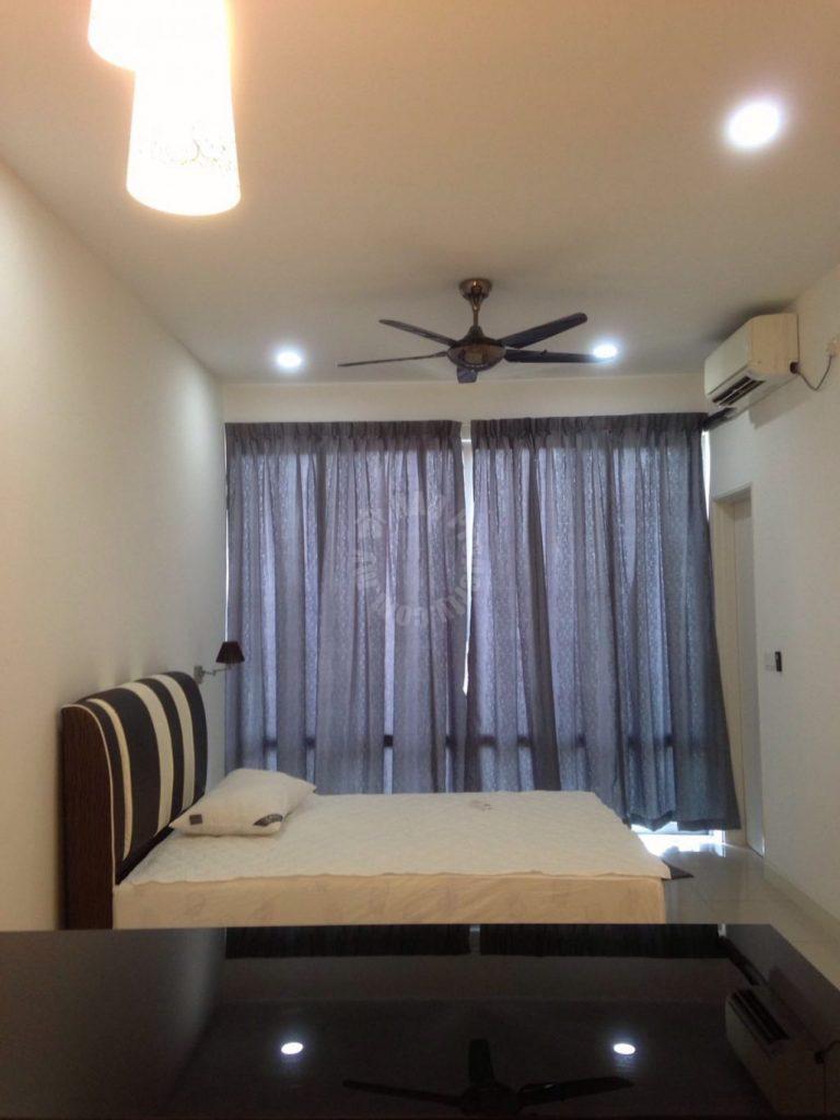 greenfield regency studio condominium 473 square feet built-up rent price rm 1,000 on jalan skudai lama, taman tampoi indah, johor bahru #282