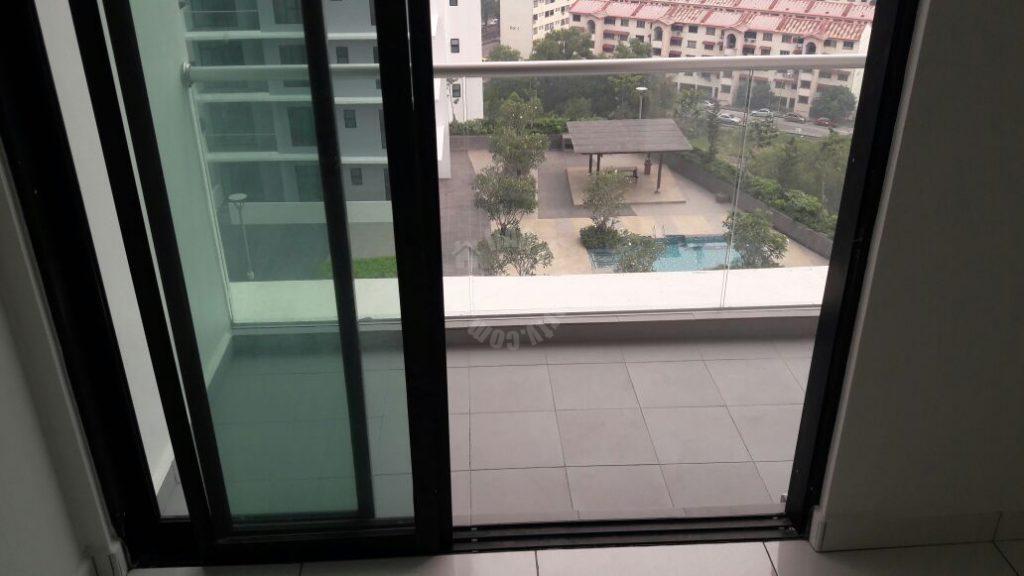 platino 2 room corner condominium 829 square foot built-up lease from rm 1,800 at jalan segenting, taman bukit mewah, johor bahru, johor bahru, johor #407