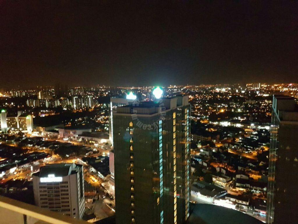 ksl d'esplanade residence 2 rooms w/private lift condominium 1250 square foot builtup rental at rm 2,800 in jalan seladang taman abad johor bahru johor malaysia #586