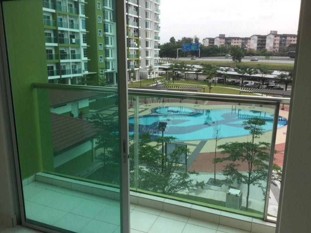 twin residence 3 + 1 rooms swimming pool view residential apartment 1135 square-feet built-up sale price rm 430,000 in jalan dato abdul hamid #745