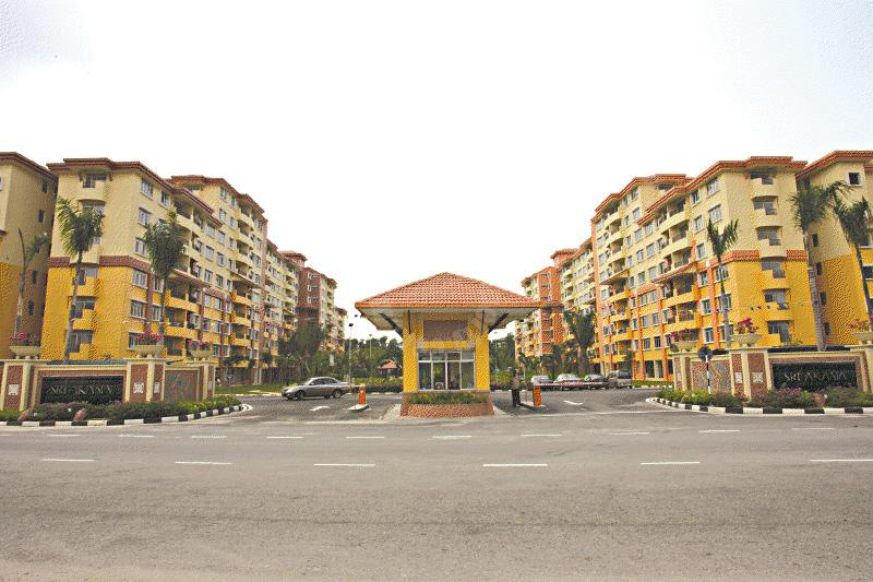 sri akasia 3 rooms condominium 1028 square-feet built-up selling at rm 310,000 on taman tampoi indah, johor bahru, johor #993