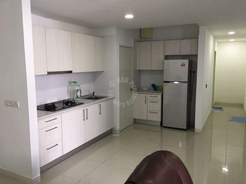 greenfield regency 3 rooms duplex highrise 1630 square-feet built-up lease from rm 2,300 in greenfield regency service apartment, jalan skudai lama #1099