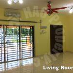 ehsan jaya 4 rooms 2 storey link residence 1540 square-feet built-up rent price rm 1,300 in jalan ej 2/x, taman ehsan jaya, johor, malaysia #947