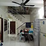 taman impian emas house one-and-a-half-storeys link house 22x70 selling from rm 480,000 on jalan bukit impian x, taman bukit impian, skudai 81300 #1337