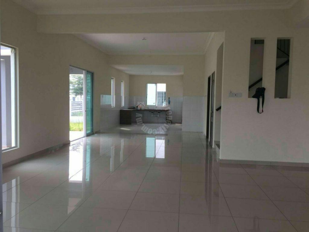 jalan cempaka bandar indahpura corner double storey terrace residence 3046 sq.ft built-up sale at rm 850,000 at jalan cempaka 36/x, bandar indahpura #1443