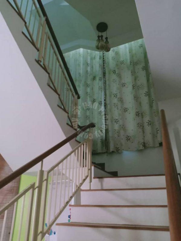 bandar seri alam masai house three storey semi-d house 3200 square feet builtup selling at rm 800,000 in jalan rimba x #2411