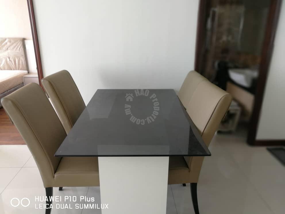paragon suite 1 room  residential apartment 646 square-foot builtup rent from rm 1,600 on jalan inderaputra, stulang darat, johor bahru, johor, malaysia #3254