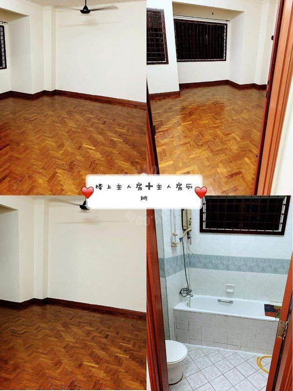 taman permas jaya  terraced residence 1650 square feet built-up lease from rm 1,800 #3237