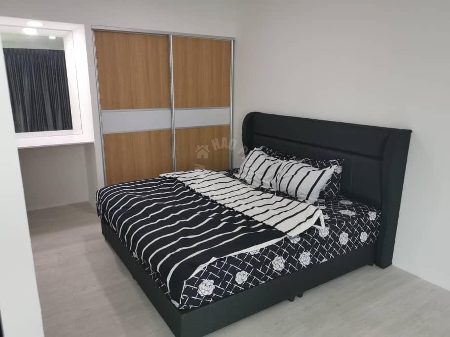 puteri square studio  apartment 616 square foot built-up rent from rm 1,050 in jalan bayu puteri 3/1, jb #2686