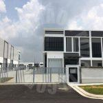 taman ekoperniagaan cluster  2 storey warehouse 4746 square feet builtup 7800 square foot built-up rent from rm 6,000 on jalan ekoperniagaan x, masai #2819