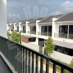 eco summer house 2 storeys link home 1950 square-feet builtup 1600 square feet built-up sale at rm 718,000 on jalan ekoflora x #2872