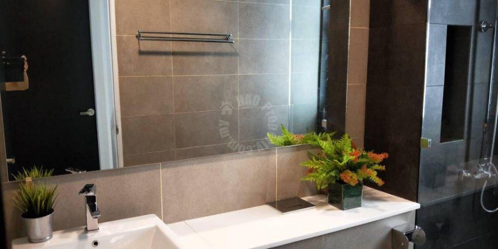 sky88 2 room  serviced apartment 743 square feet built-up rental at rm 2,200 at jalan dato abdullah tahir, johor bahru, johor, malaysia #3098