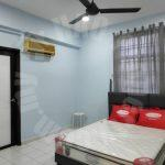 mewah view luxurious 3 room apartment 1216 square feet built-up rent price rm 1,500 on jalan mewah ria 2/10, taman bukit mewah, near paradigm mall #2835