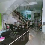 bandar seri alam masai house 3 storey semi-detached house 3200 square foot built-up selling at rm 800,000 at jalan rimba x #2412