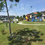 taman mutiara mas, sapphire cluster house double storeys bungalow home 3800 square foot built-up 2080 square-feet builtup selling at rm 768,000 #2297