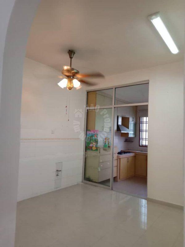 taman bukit indah corner house 1 storey link house 1870 sq.ft builtup selling from rm 640,000 on jalan indah 1/x #2019