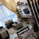 sky88 2 room  serviced apartment 743 sq.ft builtup rent from rm 2,200 on jalan dato abdullah tahir, johor bahru, johor, malaysia #3106