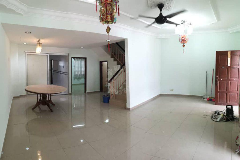 taman ehsan jaya  2 storey terrace home 1400 square feet built-up selling price rm 538,000 at jalan ehsan 2/x #2241