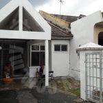 bandar sri alam jalan suria single store 1 storey link house 1400 square foot built-up selling at rm 323,000 on jalan suria x, masai, #3295