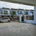 maya height masai 2 storey terraced home 1300 square feet built-up sale at rm 488,000 #2395