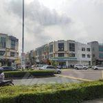 tmn mutiara mas  three storeys shoplot space 4620 square feet builtup 1540 square-feet built-up selling from rm 1,400,000 in jln mutiara x, tmn mutiara mas, skudai #2809