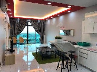 sky loft premium suites condominium 833 sq.ft built-up sale at rm 465,000 in bukit indah #3336