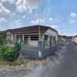 bukit indah corner 48×70 single storey terraced house 3360 sq.ft built-up sale price rm 600,000 at jalan indah 4/x #3062