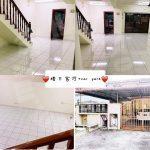 taman permas jaya  terraced home 1650 square foot built-up rental price rm 1,800 #3239