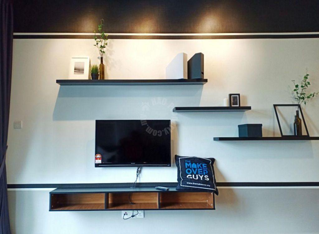 molek regency 2 bed  condo 1005 sq.ft built-up rent price rm 2,300 on persiaran bumi hijau, taman molek, johor bahru, johor, malaysia #3842