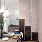 molek regency 2 bed  highrise 1005 square foot builtup lease price rm 2,300 on persiaran bumi hijau, taman molek, johor bahru, johor, malaysia #3846