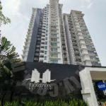 horizon residence residential apartment 1045 sq.ft built-up selling price rm 420,000 on bukit indah #4260