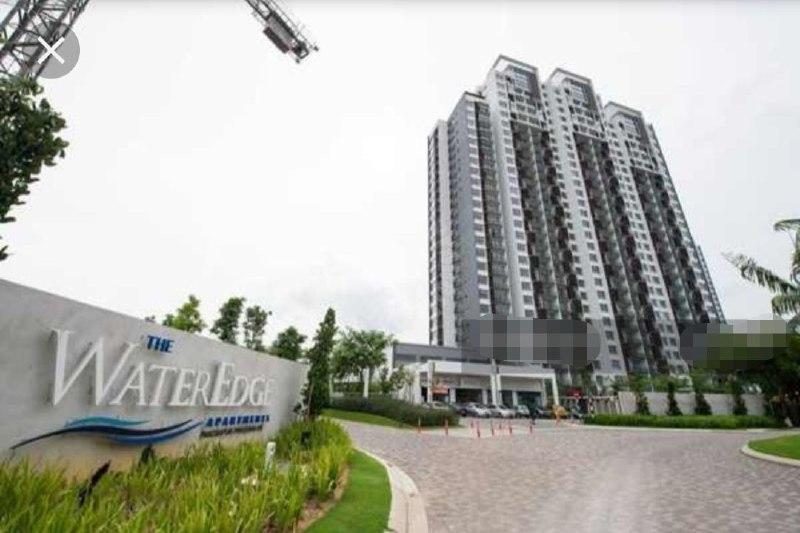 senibong cove water edge 2 room residential apartment 1184 square-feet built-up sale at rm 630,000 on permas jaya #3674