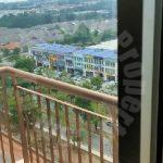 lakeview austin residential apartment 500 square feet built-up lease from rm 900 at jalan austin perdana 1 #4054