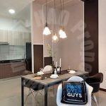 molek regency 2 bed  residential apartment 1005 square foot builtup lease from rm 2,300 at persiaran bumi hijau, taman molek, johor bahru, johor, malaysia #3847