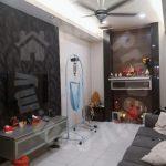 kulai bandar putra  single storey link residence 1300 square feet built-up selling price rm 350,000 on jalan merbau x, bandar putra kulai, kulai, johor, malaysia #4593