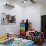 kulai bandar putra  1 storey terrace home 1300 square feet built-up sale price rm 350,000 in jalan merbau x, bandar putra kulai, kulai, johor, malaysia #4591