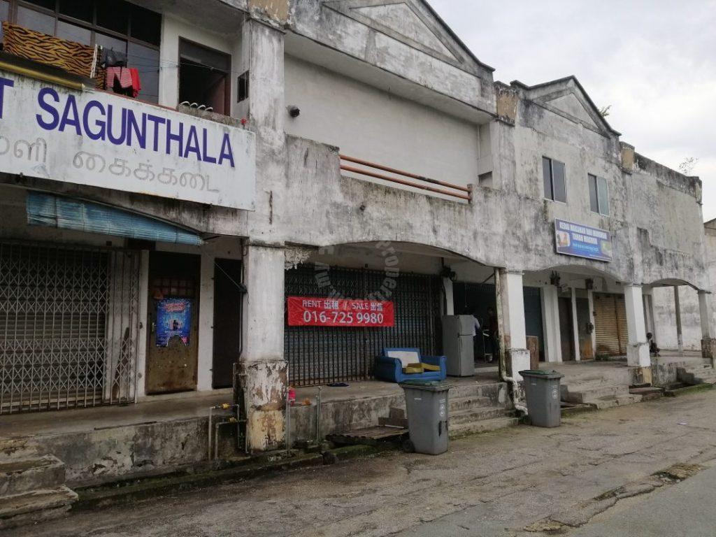 jalan makmur kulai  2 storeys shop space 1540 square foot built-up sale from rm 350,000 at jalan makmur, taman makmur, kulai, johor, malaysia #5053