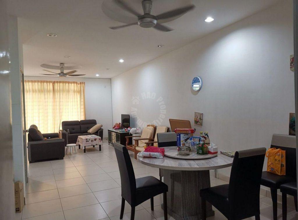 taman nusa idaman precinct 7 terrace double storeys link home 1650 square-foot builtup sale price rm 675,000 at nusa idaman, nusajaya, johor, malaysia #4605