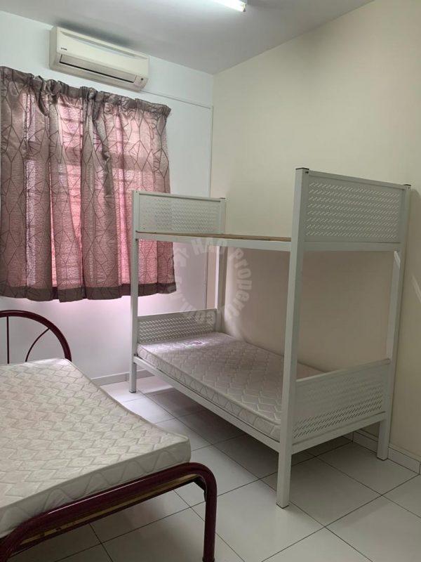 indah residence 2  double storey terrace residence 1400 sq.ft built-up rent price rm 2,500 on jalan indah 7/x, bukit indah, johor bahru, johor, malaysia #4927