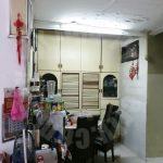 tun aminah house 22×70 single storey terraced house 1540 square-feet built-up selling at rm 393,000 at jalan pendekar x, taman ungku tun aminah, johor bahru, johor, malaysia #4861
