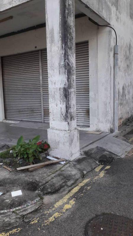 taman puteri wangsa beladau  shop property 1540 sq.ft built-up lease at rm 1,600 at jalan beladau x, taman puteri wangsa, ulu tiram, johor, malaysia #5138
