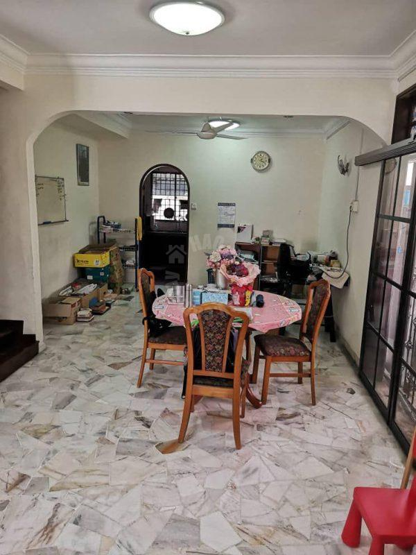 tun aminah renovated house double storey terraced home 3351 square foot builtup sale price rm 560,000 at jalan perwira x, taman ungku tun aminah, johor bahru, johor, malaysia #4870