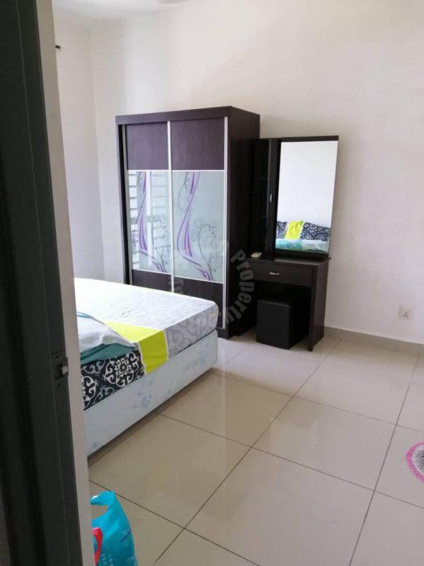 d'ambience 1 room  highrise 553 square foot built-up rental at rm 1,100 at jalan permas 2, masai, johor, malaysia #4969